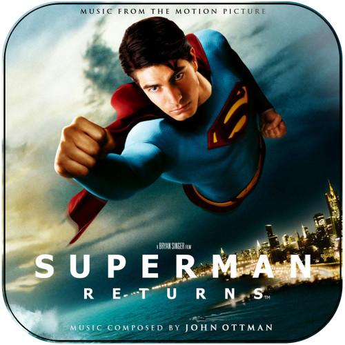 John Ottman Superman Returns-2 Album Cover Sticker