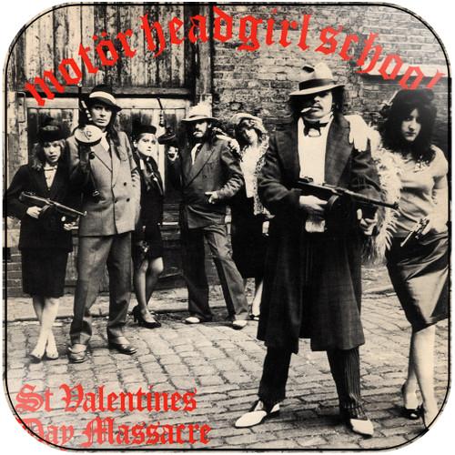 Girlschool St Valentines Day Massacre Album Cover Sticker