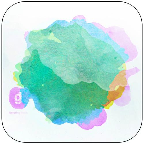 Glassjaw Coloring Book Album Cover Sticker