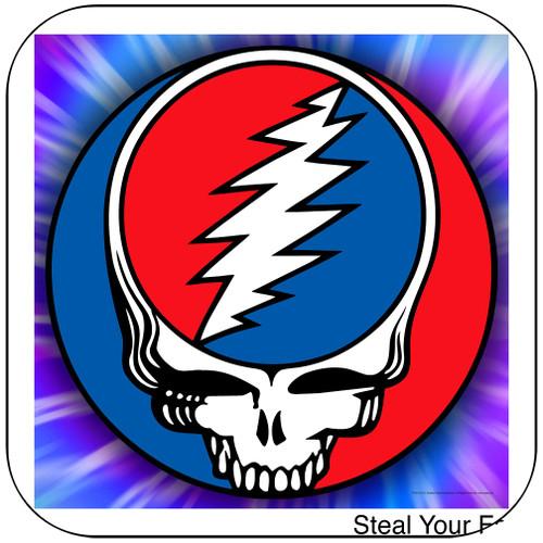 Grateful Dead Steal Your Face-2 Album Cover Sticker