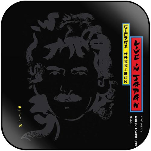 George Harrison Live In Japan Album Cover Sticker