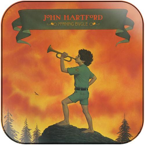 John Hartford Morning Bugle Album Cover Sticker