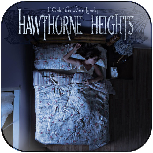 Hawthorne Heights If Only You Were Lonely Instrumental Album Cover Sticker