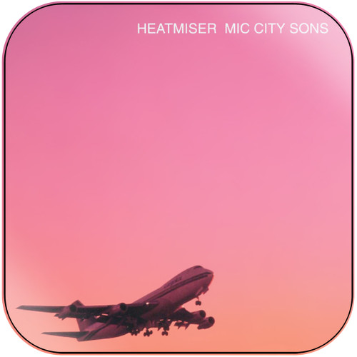 Heatmiser Mic City Sons Album Cover Sticker