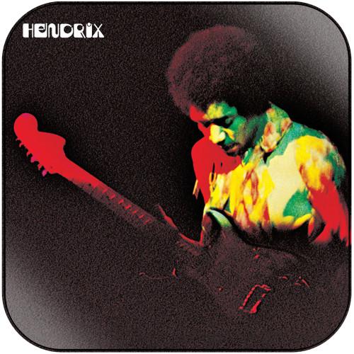 Jimi Hendrix Band Of Gypsys-1 Album Cover Sticker