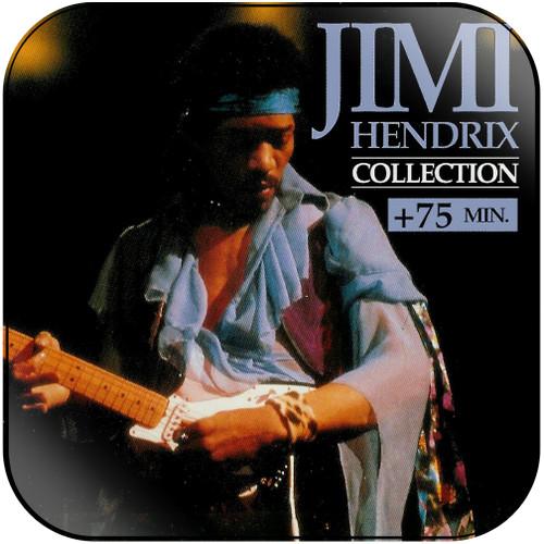 Jimi Hendrix Jimi Hendrix Collection Album Cover Sticker