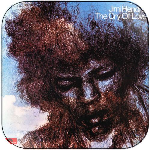 Jimi Hendrix The Cry Of Love Album Cover Sticker