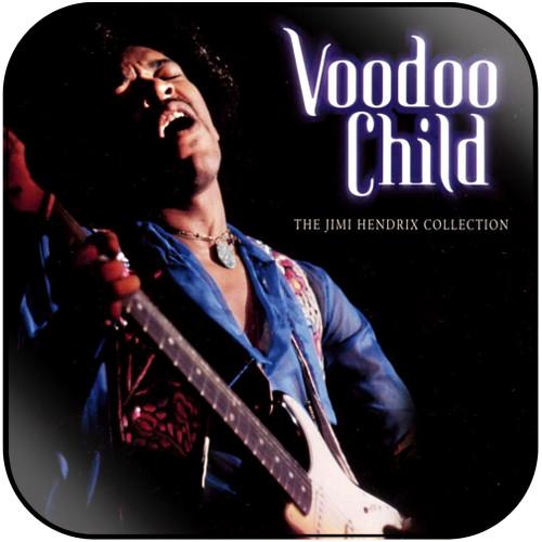 Jimi Hendrix Voodoo Child The Jimi Hendrix Collection Album Cover Sticker