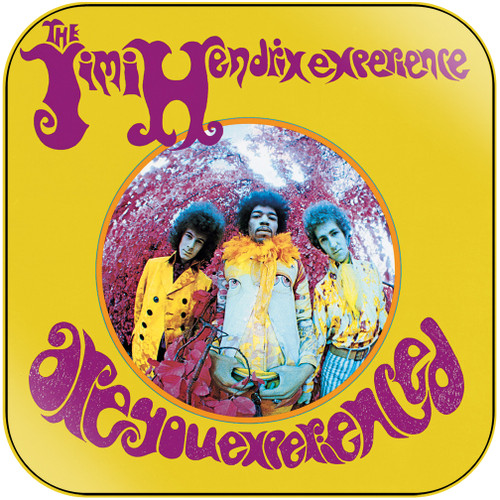 The Jimi Hendrix Experience Are You Experienced-2 Album Cover Sticker