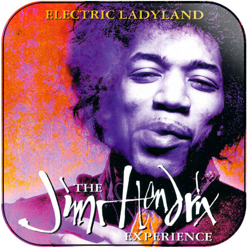 The Jimi Hendrix Experience Electric Ladyland-2 Album Cover Sticker