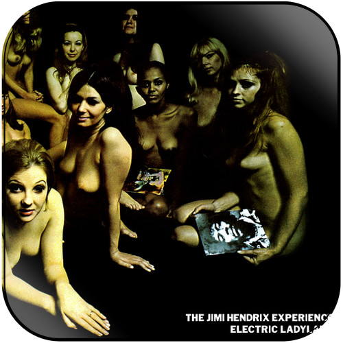 The Jimi Hendrix Experience Electric Ladyland-4 Album Cover Sticker