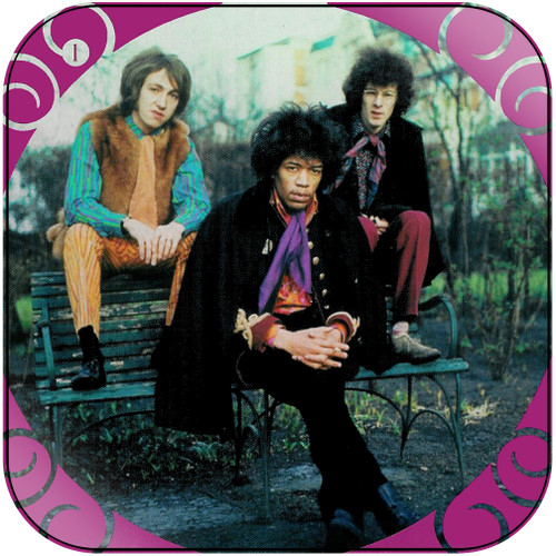 The Jimi Hendrix Experience The Jimi Hendrix Experience-1 Album Cover Sticker