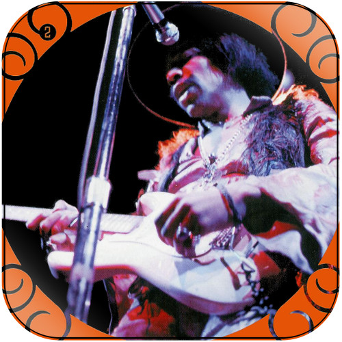 The Jimi Hendrix Experience The Jimi Hendrix Experience-2 Album Cover Sticker