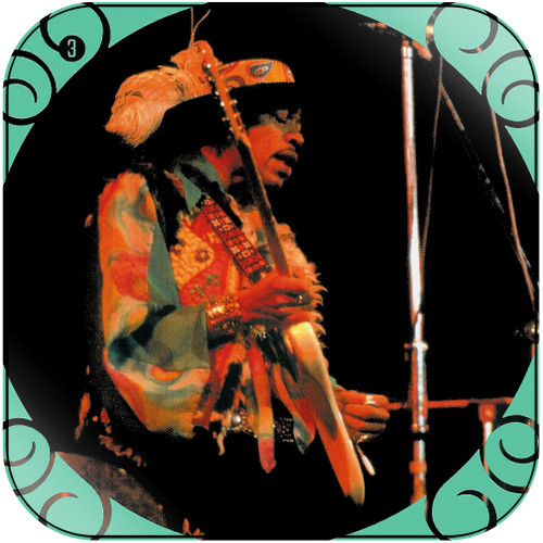 The Jimi Hendrix Experience The Jimi Hendrix Experience-3 Album Cover Sticker