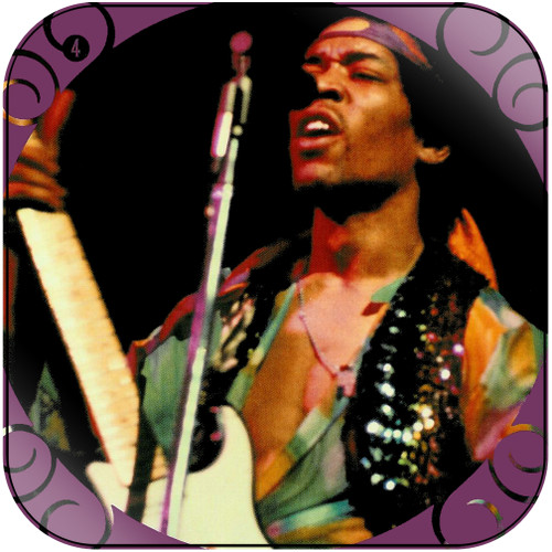 The Jimi Hendrix Experience The Jimi Hendrix Experience-4 Album Cover Sticker