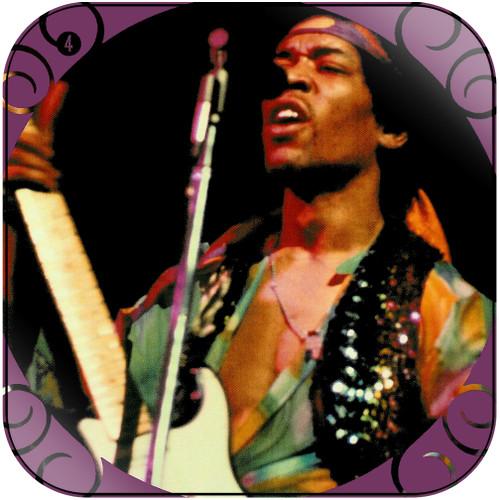 The Jimi Hendrix Experience The Jimi Hendrix Experience-4 Album Cover Sticker
