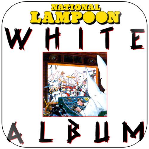 National Lampoon White Album Album Cover Sticker
