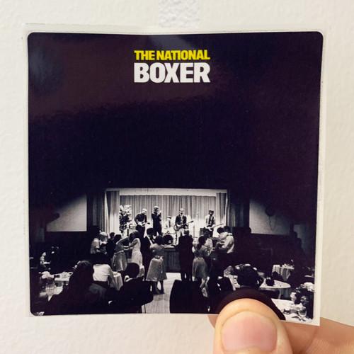 The National Boxer Album Cover Sticker