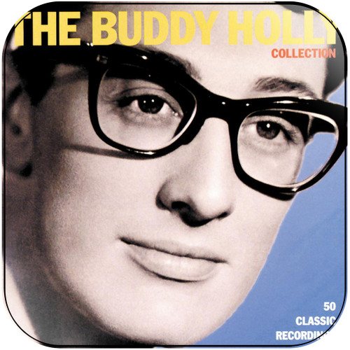 Buddy Holly The Buddy Holly Collection Album Cover Sticker