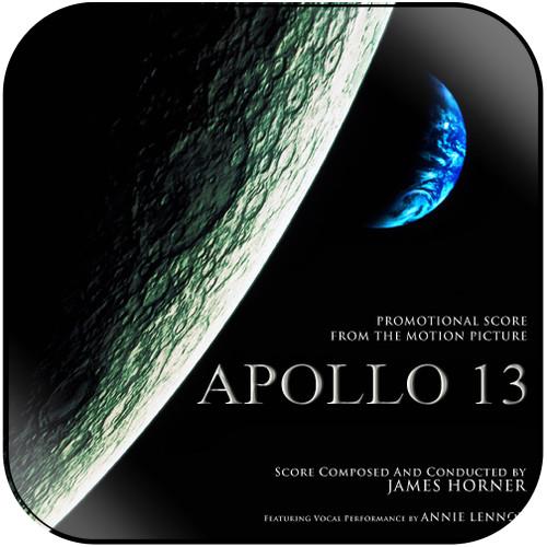 James Horner Apollo 13 Album Cover Sticker