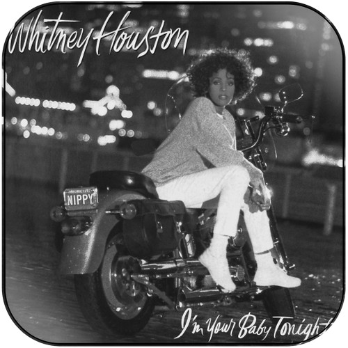 Whitney Houston Im Your Baby Tonight Album Cover Sticker