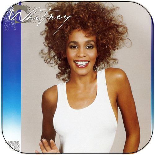 Whitney Houston Whitney-1 Album Cover Sticker