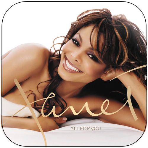Janet Jackson All For You Album Cover Sticker