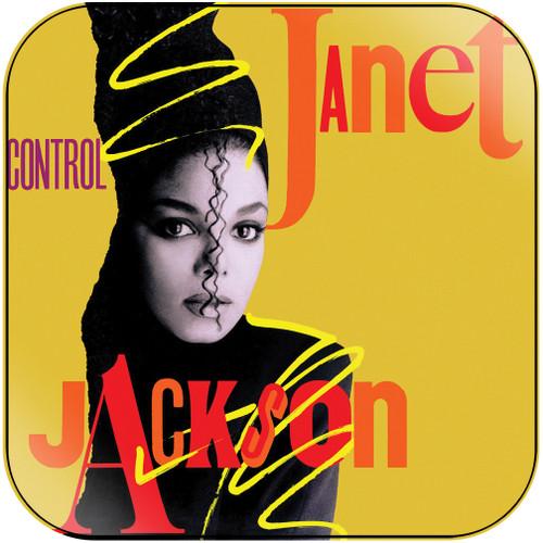 Janet Jackson Control-2 Album Cover Sticker