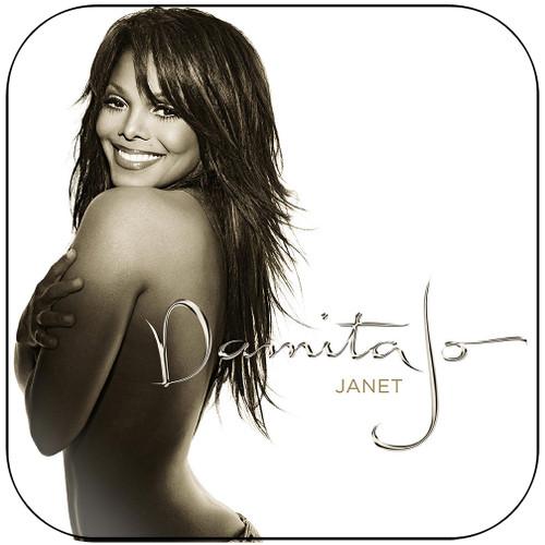 Janet Jackson Damita Jo Album Cover Sticker