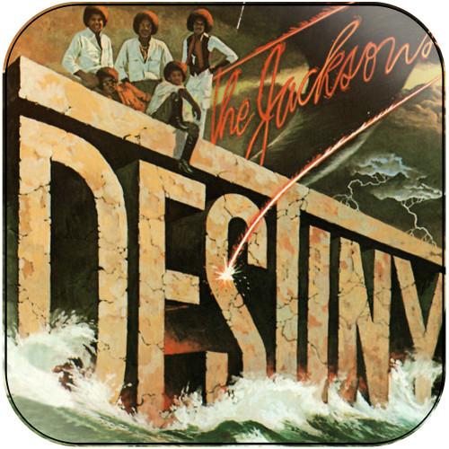 The Jacksons Destiny Album Cover Sticker