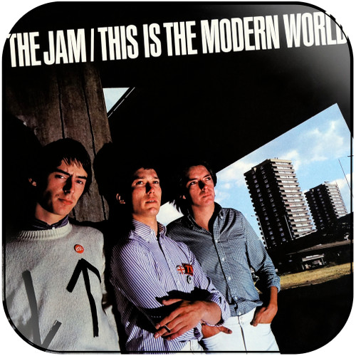 The Jam This Is The Modern World Album Cover Sticker