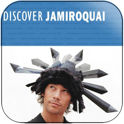 Jamiroquai Discover Jamiroquai Album Cover Sticker