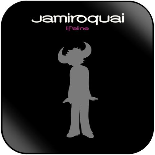 Jamiroquai Lifeline Album Cover Sticker