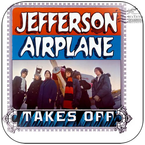 Jefferson Airplane Jefferson Airplane Takes Off-2 Album Cover Sticker
