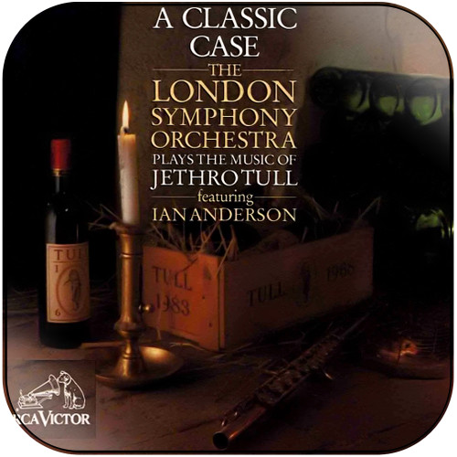 Jethro Tull A Classic Case The London Symphony Orchestra Plays The Music Album Cover Sticker