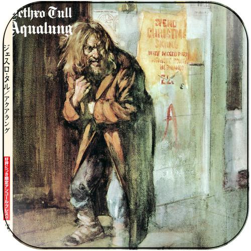 Jethro Tull Aqualung-3 Album Cover Sticker