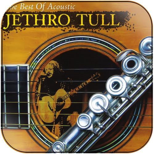 Jethro Tull The Best Of Acoustic Jethro Tull Album Cover Sticker