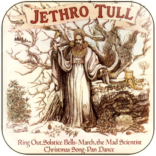 Jethro Tull The Jethro Tull Christmas Album-2 Album Cover Sticker