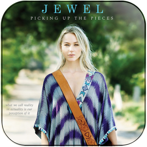 Jewel Picking Up The Pieces Album Cover Sticker