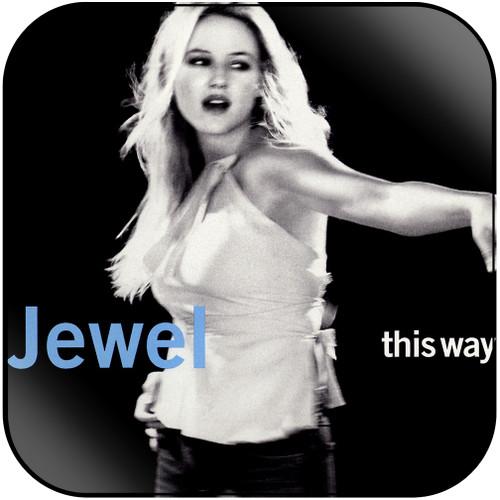 Jewel This Way Album Cover Sticker