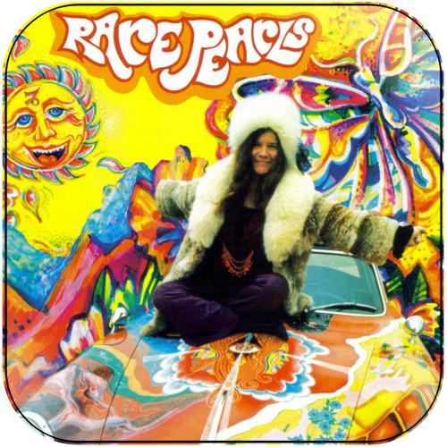 Janis Joplin Rare Pearls Album Cover Sticker