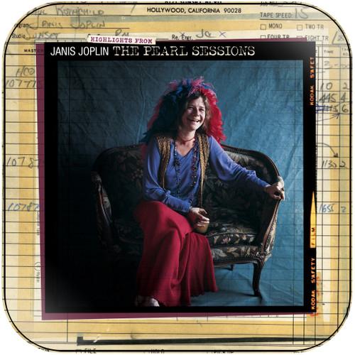Janis Joplin The Pearl Sessions Album Cover Sticker