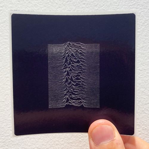 Joy Division Unknown Pleasures Album Cover Sticker