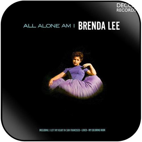 Brenda Lee All Alone Am I Album Cover Sticker