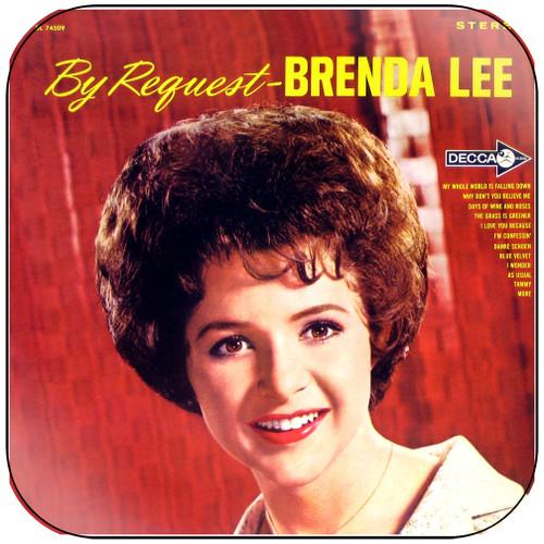 Brenda Lee By Request Album Cover Sticker