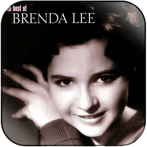 Brenda Lee The Best Of Brenda Lee Album Cover Sticker