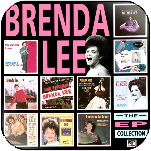Brenda Lee The Ep Collection Album Cover Sticker