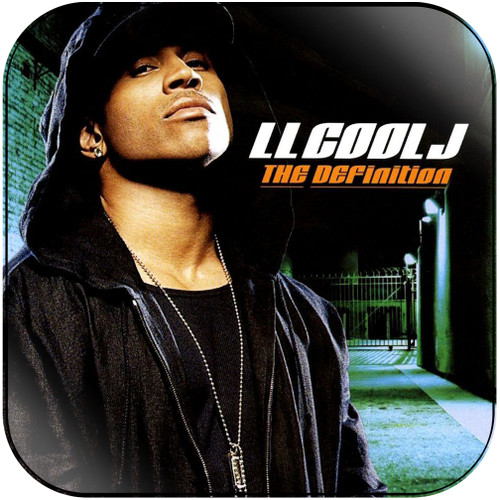 LL Cool J The Definition Album Cover Sticker
