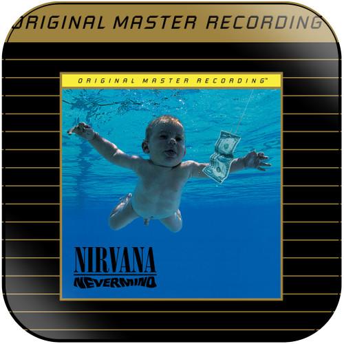 Nirvana Nevermind-2 Album Cover Sticker