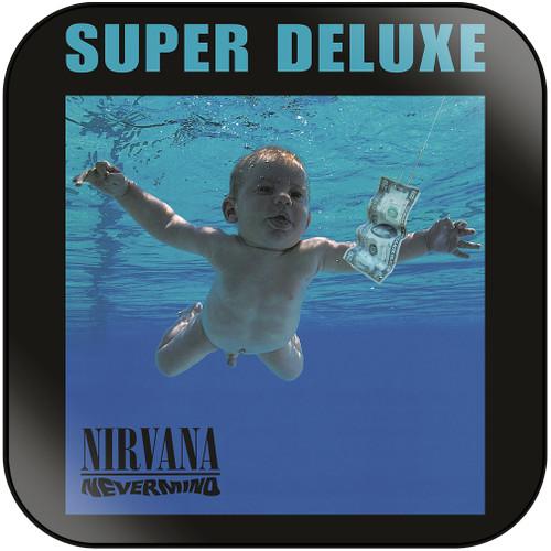 Nirvana Nevermind-4 Album Cover Sticker